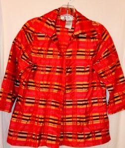 Borcellini Red & Gold Orange Jacket 10